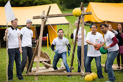 Team Building Games Outdoor For Corporate